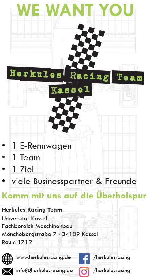 Herkules Racing Team - We want YOU!